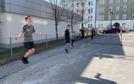 Badminton Jugend-Outdoor-Training