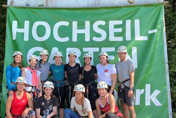 Teambuilding Hochseilgarten